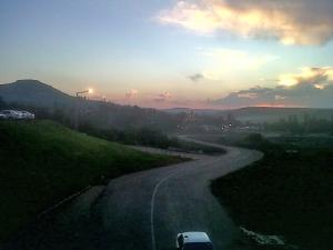 Maseru at dusk