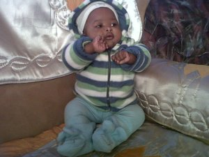 His name is Relobohile but we call him Charmer Boy